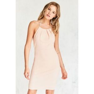 NWOT Peach Halter Dress from Urban Outfitters